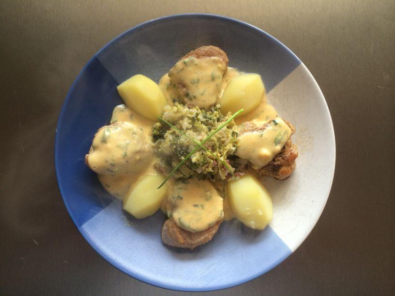 Filet und Sauce Béarnaise