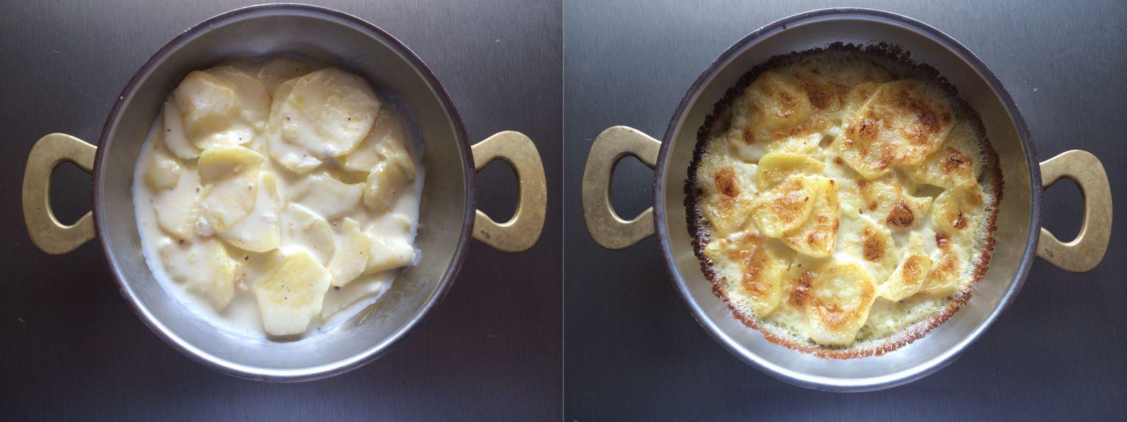 gratinierte Kartoffeln