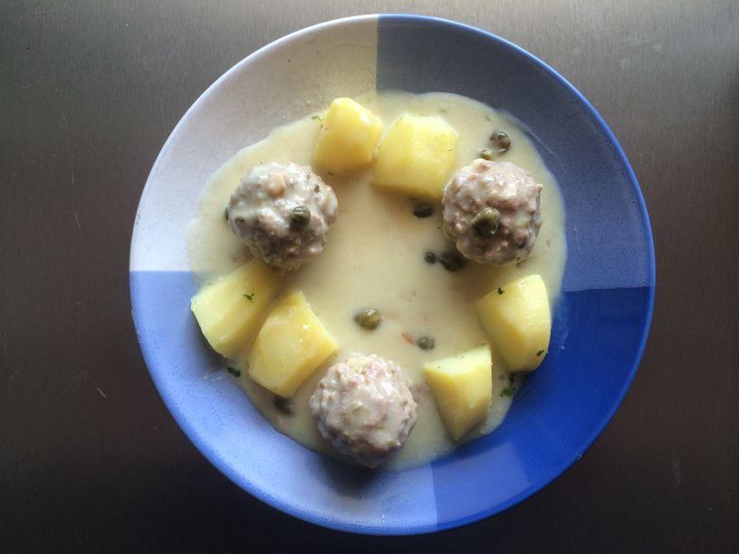 Teller Königsberger Klopse