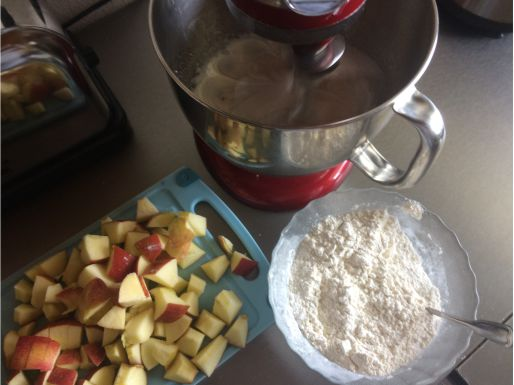 Apfelballen Zutaten