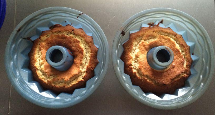 Hermannkuchen fertig gebacken