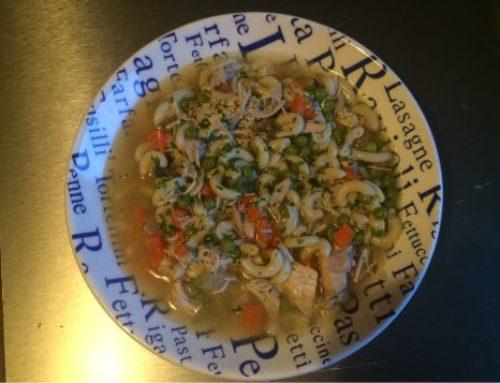 Hühner Gemüse Nudel Eintopf – so wie ihn schon die Mutter gemacht hat