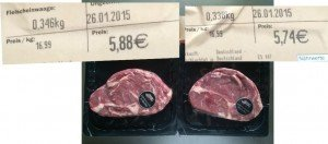Preis Rib eye Steak