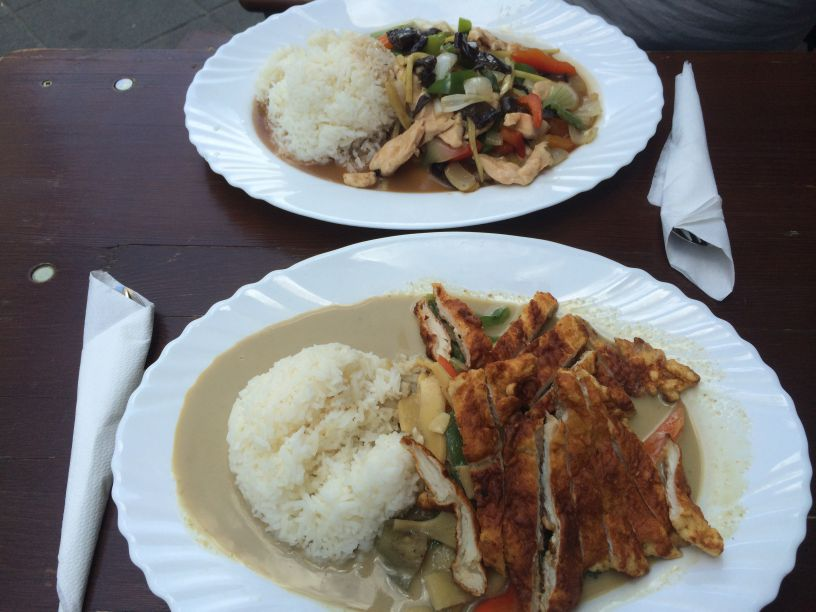 Thai food teller