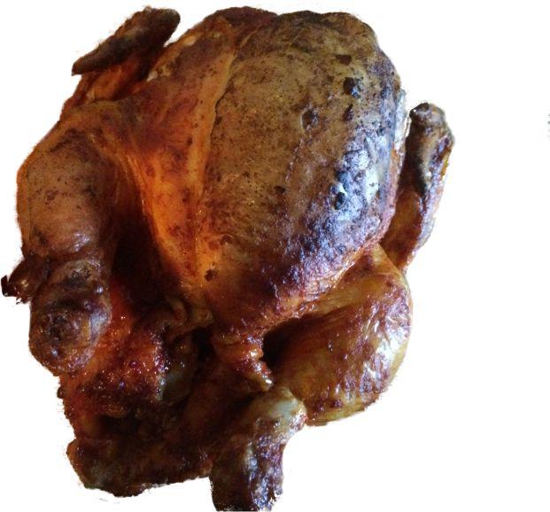 halbes Huhn